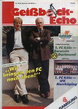 EC III 90/91 1. FC Köln - IFK Norrköping + B. Dortmund
