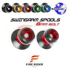 8MM CNC 5Color Swingarm Spools Set For Suzuki GSXR 1000 00-09 02 03 04 05 06