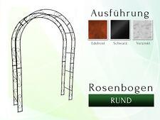 Metall Rosenbogen Pergola Gartenbogen Rosensäule RUND B 1,20 m Canzello di rose