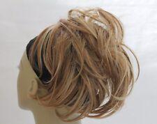 Synthetic Hair Large Circle Elastic Hairpiece Bun  Scrunchies Blonde Brown Black
