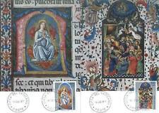 Vatican 1977 Mi MK 703-04 Religion Mary Madonna Himmelfahrt Ascension Painting