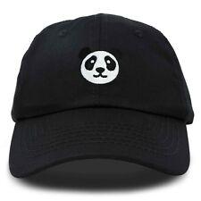 DALIX Panda Face On A Hat Mens Womens Embroidered Baseball Cap