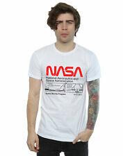 NASA Hombre Classic Space Shuttle Camiseta