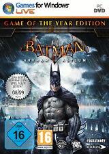 Batman: Arkham Asylum - Game Of The Year Edition (PC, 2010, DVD-Box)
