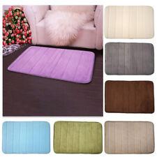 Non Slip Back Pad Memory Foam Absorbent Soft Bath Mat Floor Rug Carpet Bedroom