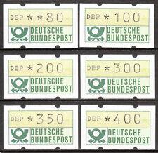 BRD 1981 distributori automatici-freinarken n. 1.fd GIALLO gummie post fresco 6w.80-400 (6958)