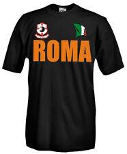 T-Shirt girocollo manica corta Supporters T21_C Tifosi Roma calcio football fans