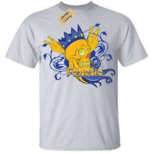 Fanatic Skull crown king wings T-Shirt Mens Tee