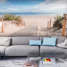 VLIES FOTOTAPETE Strand Meer Himmel sepia TAPETE TAPETEN Schlafzimmer WANDBILD
