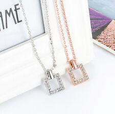Halskette mit Anhänger Kette Geschenk Kristall necklace Weihnachtsgeschenk Liebe