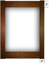 Family Woodworks Mortise & Tenon Quartersawn White Oak Art Tile Picture Frame