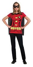 Robin DC Comics Deluxe Adult Womens Costume Kit Movie Sidekick Party Halloween