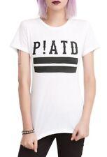 Panic At The Disco P!ATD LOGO Girls Women's T-Shirt NEW Official