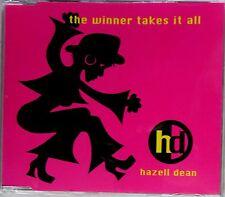HAZELL DEAN * THE WINNER TAKES IT ALL * UK 4 TRK CD * HTF! * ABBA * GAY INTEREST