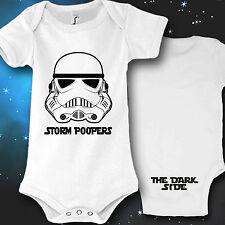 Babybody Baby Strampler Druck Storm Poopers Geschenk idee lustig