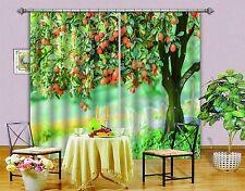 3D Kumquat Tree 77 Blockout Photo Curtain Printing Curtains Drapes Fabric Window