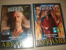 2 DVD LE STORIE DELLA BIBBIA ABRAMO 1° E 2° PARTE NEW