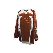 Alloy 06 réacteur MOTOCROSS MX Jersey Chocolat Orange course shirt VTT ENDURO