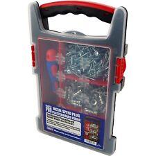 Enchufe de 200 velocidades de Metal Hueco Pared revestida de Yeso Kit de fijación con Destornillador Y Estuche