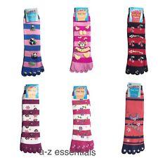 TOE SOCKS - STRIPY COLOURFUL COSY & WARM - GIRLS &WOMEN - HIGH QUALITY