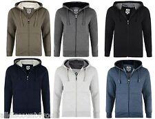 Mens Kam Brand Hoodies Hooded Zip Up Sweat Jumper Smart Casual 2XL - 6XL K503H