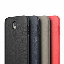 TPU-case funda cuero-Optik #t52 para Samsung Galaxy j7 2017-bolsa de silicona cover