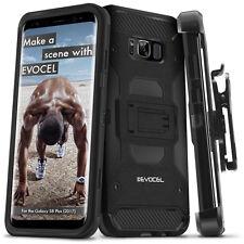 Galaxy S8 Plus Case, Evocel Trio Pro Premium Hybrid Tri-Layer Case w/ Belt Clip