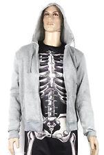 Donnie Darko Skeleton SET (Suit + Hoodie) Coat Adult Costume Halloween Jumpsuit