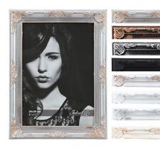 Barock Bilderrahmen Kunststoff in 10x15 13x18 15x20 20x30 30x40 Bild Foto Rahmen