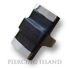 Designer Ring Goa Holz Wood Natur Edelstahl Schmuck Handarbeit AR054