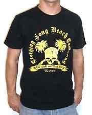 "Long Beach ""skull-n-Beach"" T-Shirt (negro) streatwear"