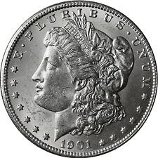 1901-S Morgan Silver Dollar BU
