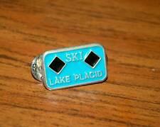 SKI PIN BADGE SKIING LAKE PLACID