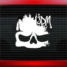 Skull #5 JDM Import Racing Cool Car Decal Badge Window Sticker Shocker 20 COLORS