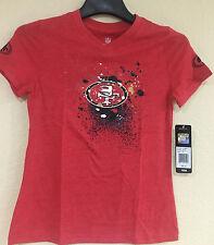 49ers San Francisco Youth Girls V-Neck T-shirts - NFL