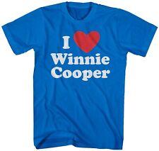 I Heart Winnie Cooper Mens Lightweight T-Shirt The Wonder Years Kevin Arnold