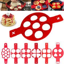 7 Style Pancake Maker Silikon Form Backen Nonstick Pfannkuchen Kuchenform Form