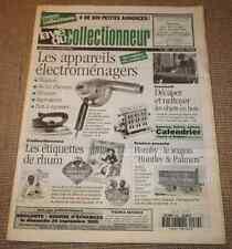 Vie du Collectionneur 89 Appareils électroménagers Etiquettes Rhum Trains Hornby