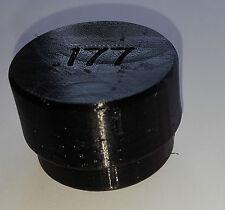Rubber Pellet Holder Screw Top For .177 and .22 Black