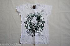 Ir a HELL CLOTHING el rencor señoras Skinny Camiseta Nuevo Oficial De Metal Gótico Emo