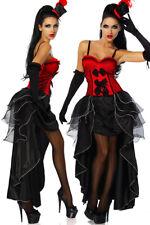 Cabarett-Kostüm 5-teiliges Kostüm im Burlesque-Stil Komplett Kostüm Burlesque