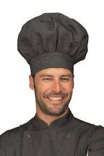 CAPPELLO CHEF CUOCO UNISEX BLACK JEANS 100% COTONE ISACCO HAT gorro de  cocinero fca39c82d25c
