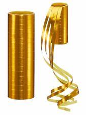 Luftschlangen GOLD oder SILBER Partydeko Tischdeko  1St. à 18 Röllchen