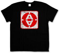 VINTAGE ALPHA MOONBASE DOOR LOGO T-SHIRT -  SciFi TV Series Space 1999 T-Shirt
