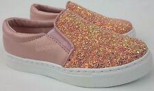 Le Ragazze Glitter Skate Pompe Bambini Mocassini Scarpe da Ginnastica Piatte Scarpe Da Ginnastica