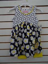 Girls $39 Flapdoodles 2pc Floral Print Dress w/ Leggings Set Sizes 4 - 6X