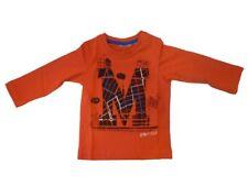 MEXX de manga larga niño Camiseta oscuro rojo talla 74 80 86