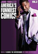 Jamie Foxx Presents America's Funniest Comics Vol 2 (NEW DVD) FREE SHIPPING !!