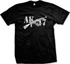 AK-47 Assault Rifle Pro-gun Rights 2nd Second Amendment Freedom Mens T-shirt