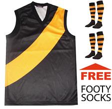 NEW Baby Kids Childrens Richmond Football Jumper Guernsey + FREE Footy Socks x2